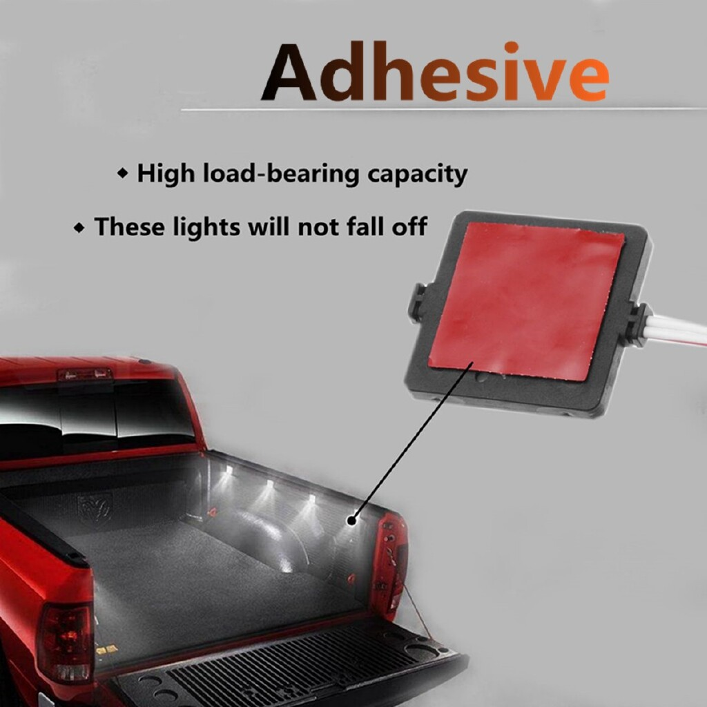 Car Lights - 8 PIECE(s) 32LED Truck Cargo Bed/ Rear Work Box Dome Roof Lighting Light For Pickup - Replacement Parts