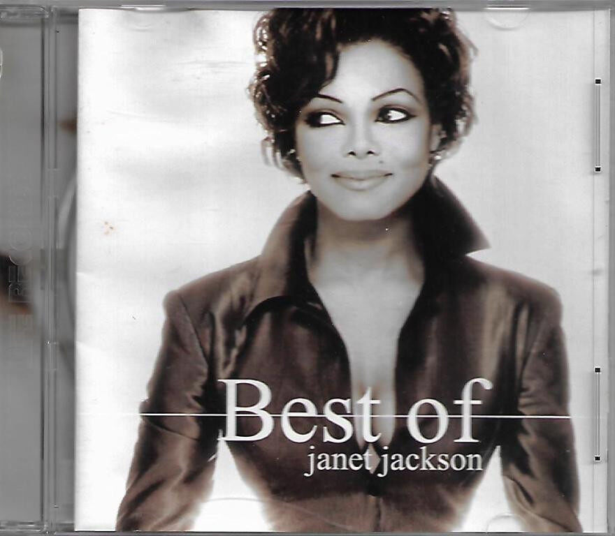 Janet Jackson - Best of Janet Jackson CD Design Of A Decade 1986-1996