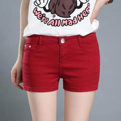 (PreOrder14 Days  JYS Fashion Korean Style Women Jeans Pant Collection-5216095col521-6095--Wine Red-25