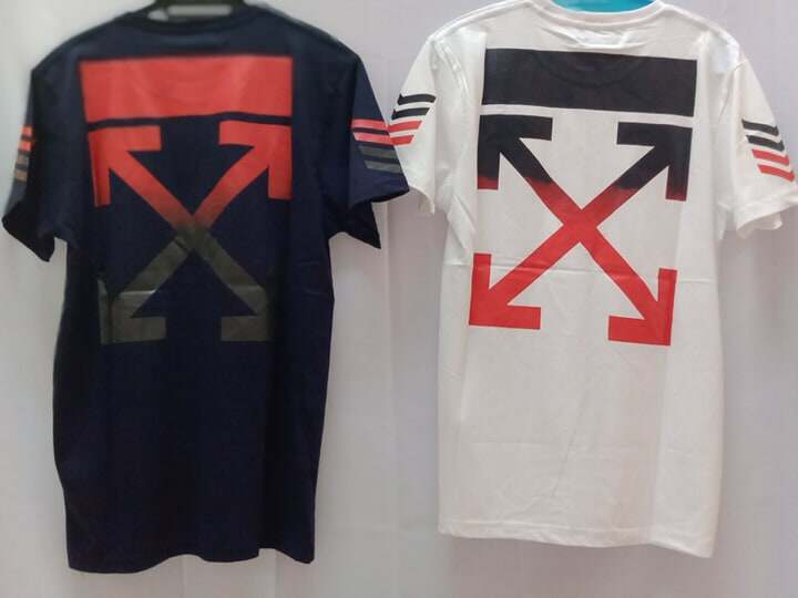 Off White arrows s/s over tshirt