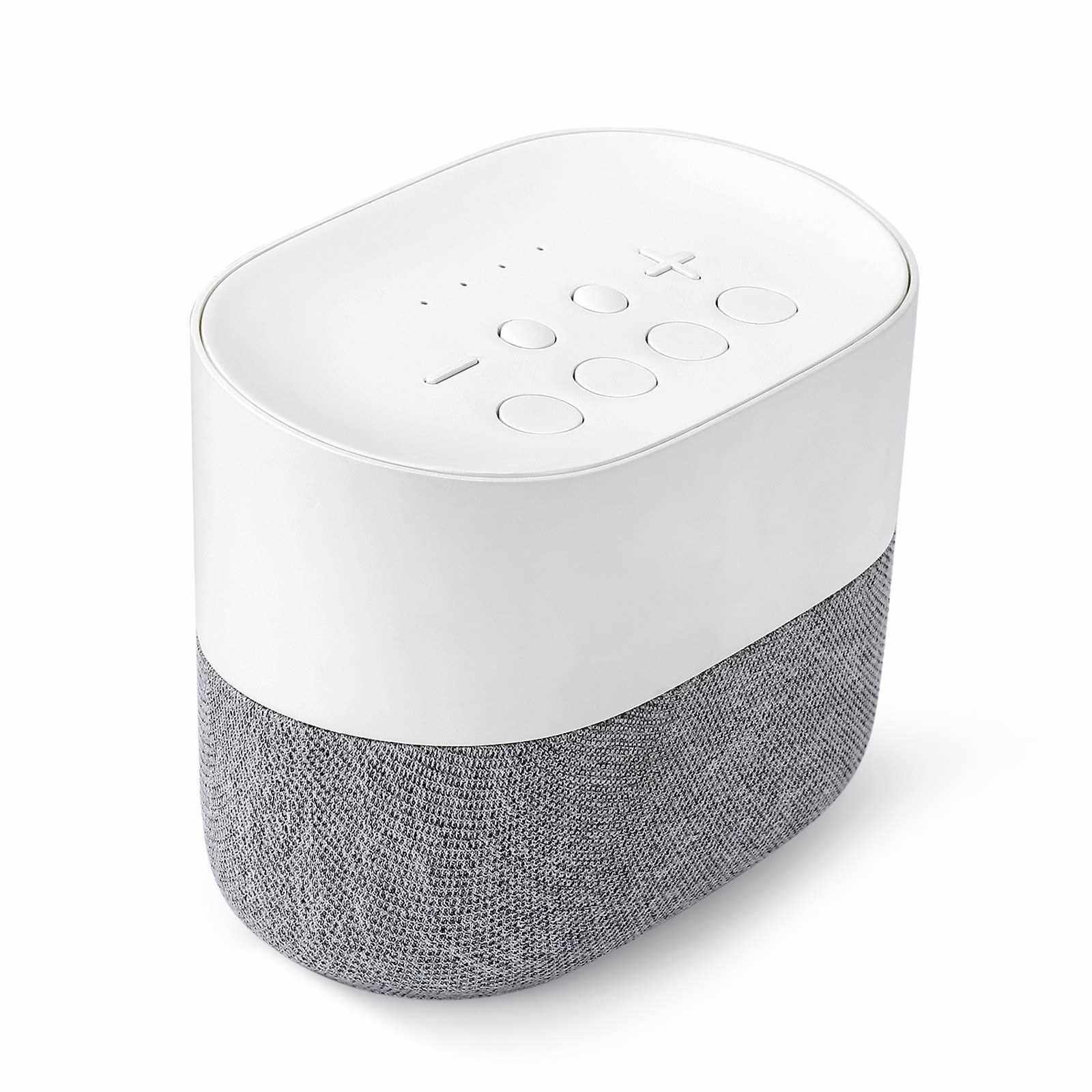 White Noise Machine Sleep Therapy Sound Machine 26 High Fidelity Soothing Sounds Sleeping Helper Insomnia Physiotherapy Instrument Timer & Memory Function (Standard)