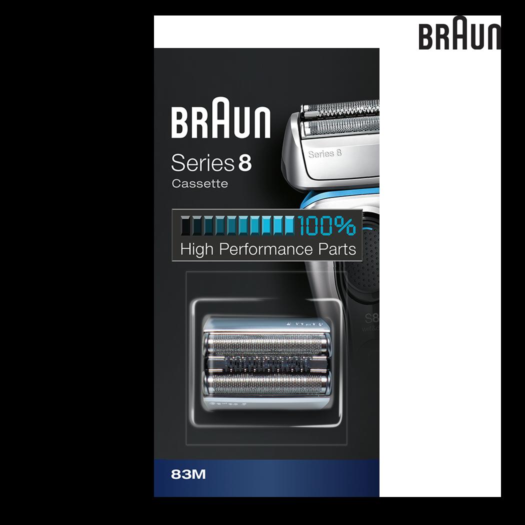 Braun 83M Replacement Head (Silver)