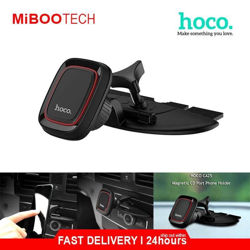 [Miboo] Hoco CA25 Magnetic CD Slot Car Phone Holder 360° Rotation Phones Holder Stand Car Holder For Huawei IPhone Samsung Vivo Oppoe
