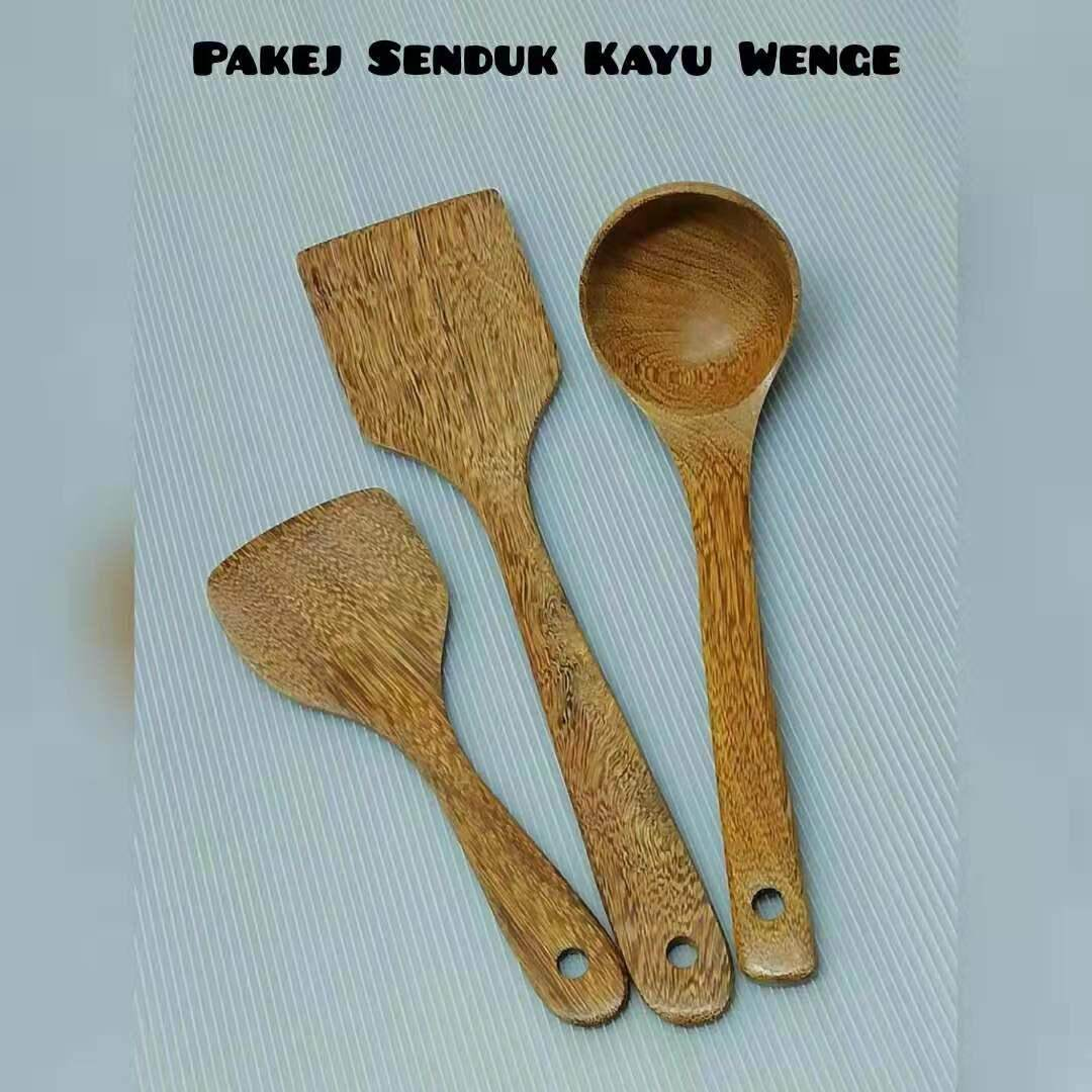 Pakej Unit Kayu Wenge [1Unit 3 Set]
