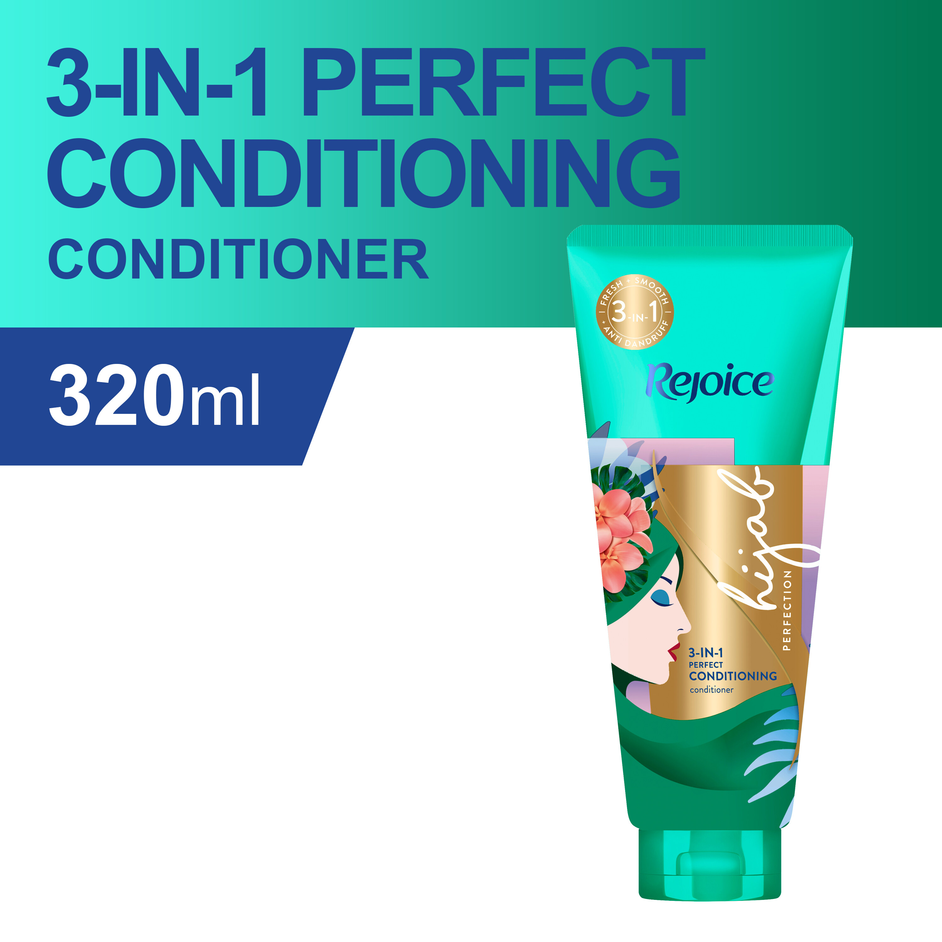 Rejoice 3-in-1 Perfect Conditioning Conditioner 320ml
