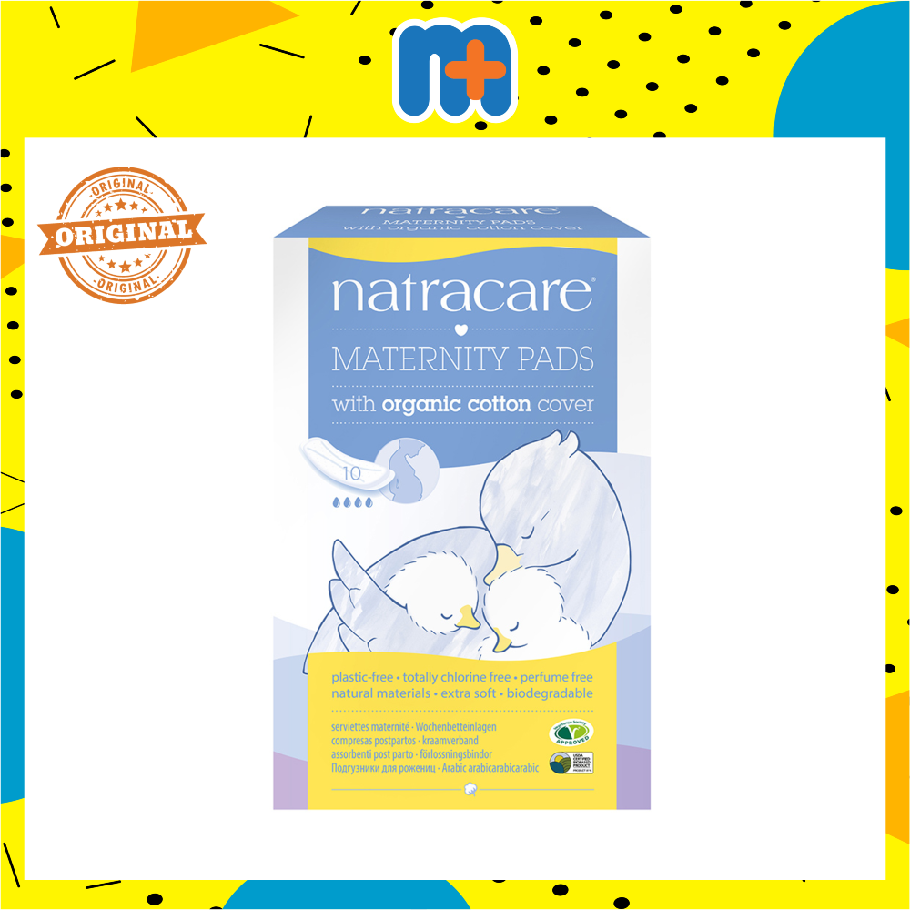 NATRACARE MATERNITY PADS 10S