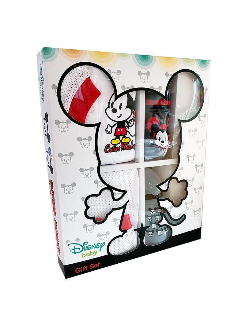 Disney Baby Premium Newborn 0-24 Months Mickey Long-Sleeve Clothes & Pant Gift Set