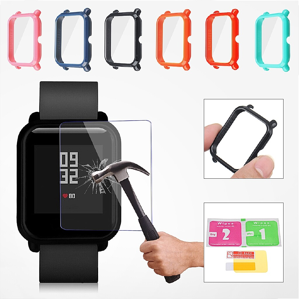 Smart Watch - TPU Soft Clear Protective Film Guard For Xiaomi Huami Amazfit Smart Watch - Wearables