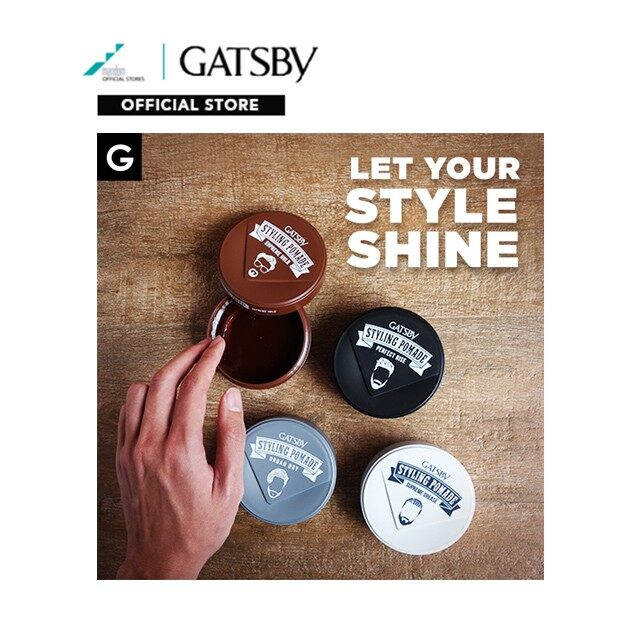 GATSBY Styling Pomade Perfect Rise 30g (mens hair pomade, hair pomade, pomade original)