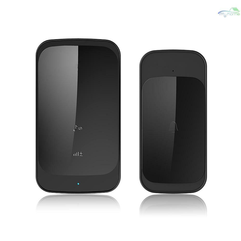 Security & Surveillance - 280M Waterproof WIRELESS Doorbell Slim Remote Control Touched Intelligent Door Bell Ring - Home Appliances
