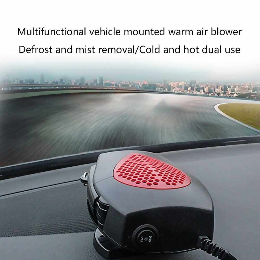 Multifunctional Creative Practical Smart Mini Vehicle Mounted Warm Air Blower Heater Deforst And Mist Removal Portable Heating And Cooling Dual Machine (B2)