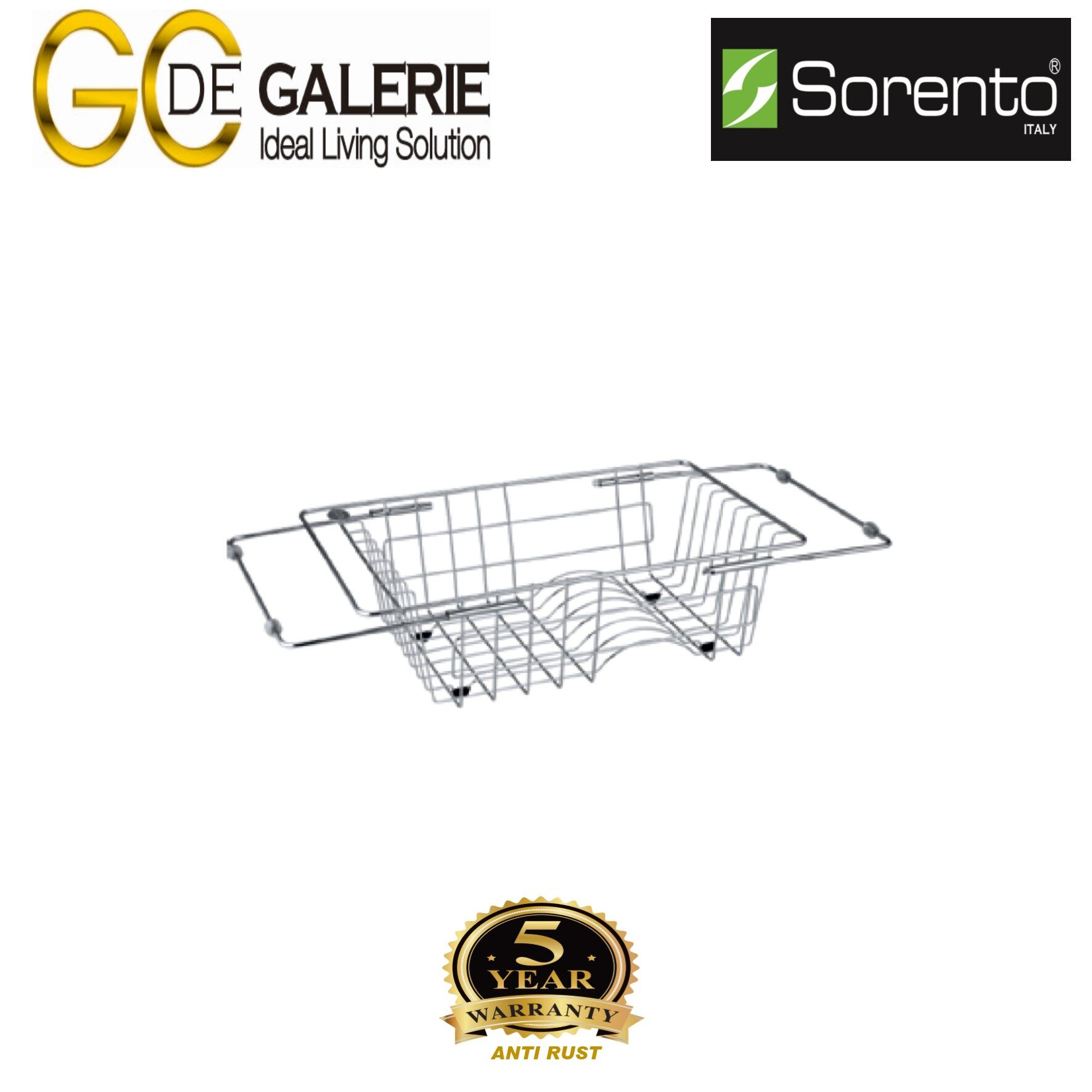 Sorento SRTBK001 Kitchen Basket