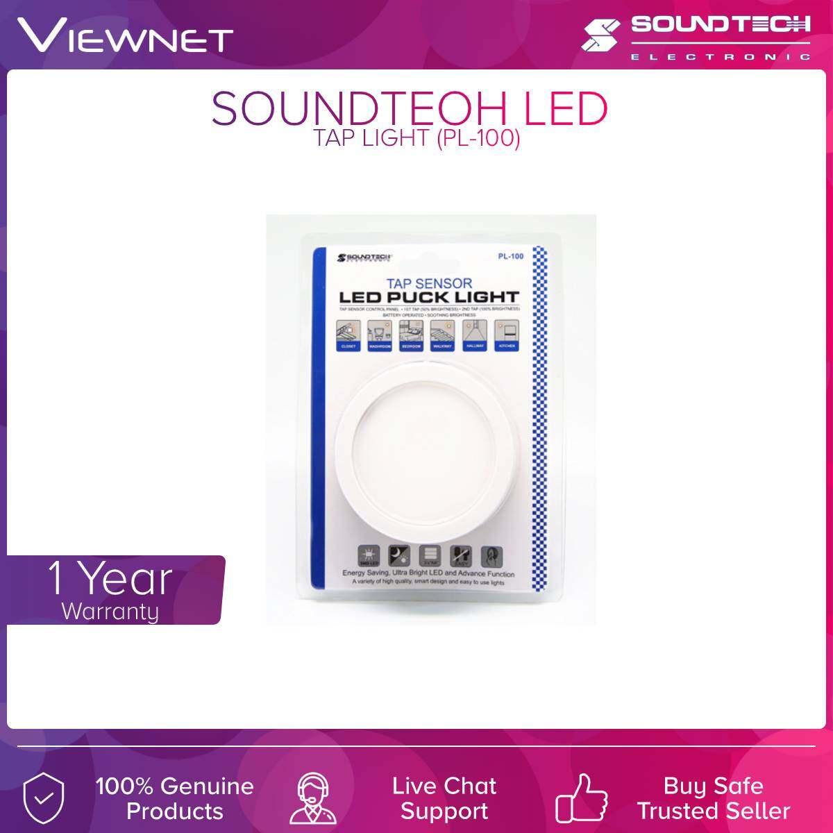 Soundteoh (PL-100) Led Tap Light
