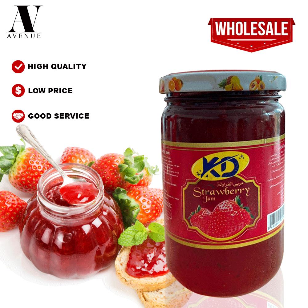 Kd Strawberry Jam 370 g  مربي فراولة