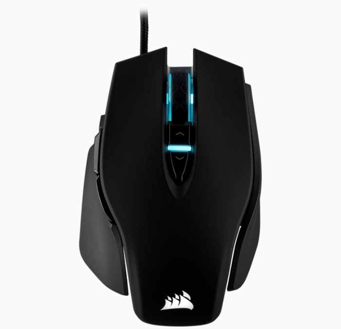 CORSAIR MOUSE GAMING WIRED USB M65 ELITE TUNABLE FPS RGB (CH-9309011-AP) BLK