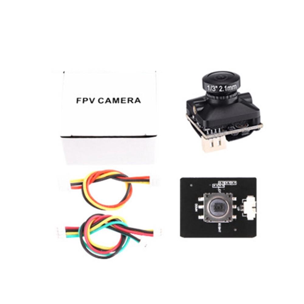 MINI Cameras - Mista 1/3 COMS 1200TVL 2.1mm PAL/NTSC Switchable MINI FPV Camera for FPV Racing RC - WHITE / PURPLE / ORANGE / BLACK