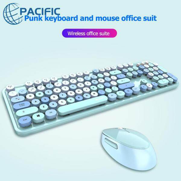 MOFii Sweet Style 2.4GHz Wireless 1600DPI Office Optical Keyboard Mouse Combos Computer Accessories Singapore