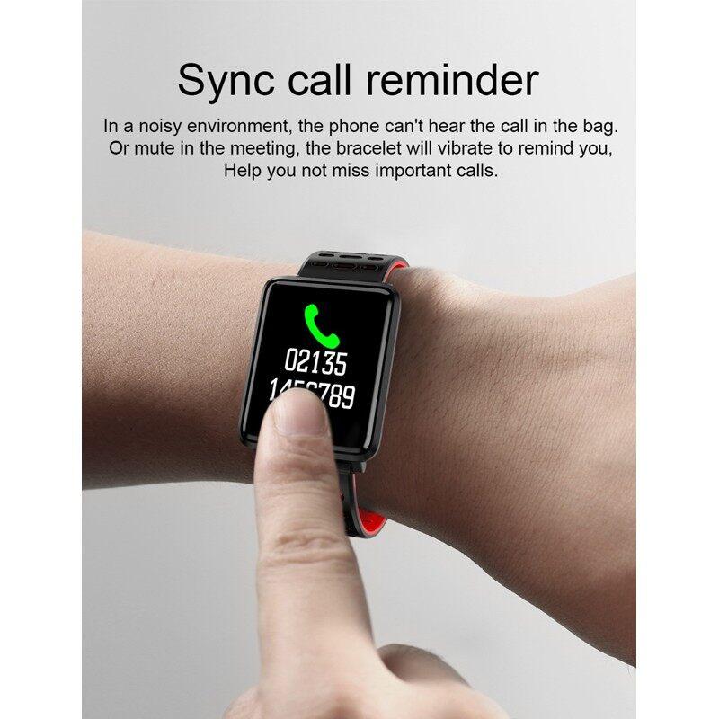 Smart Bracelet Fitness Tracker Waterproof Smart Bracelet Heart Rate Monitor Smart Watch - BLACK / GREEN / RED / GRAY / BLUE