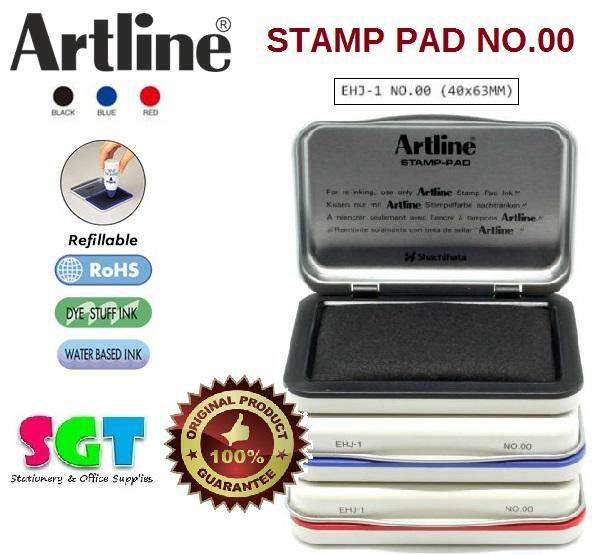 Artline Stamp Pad EHJ-1 - No.00 Black
