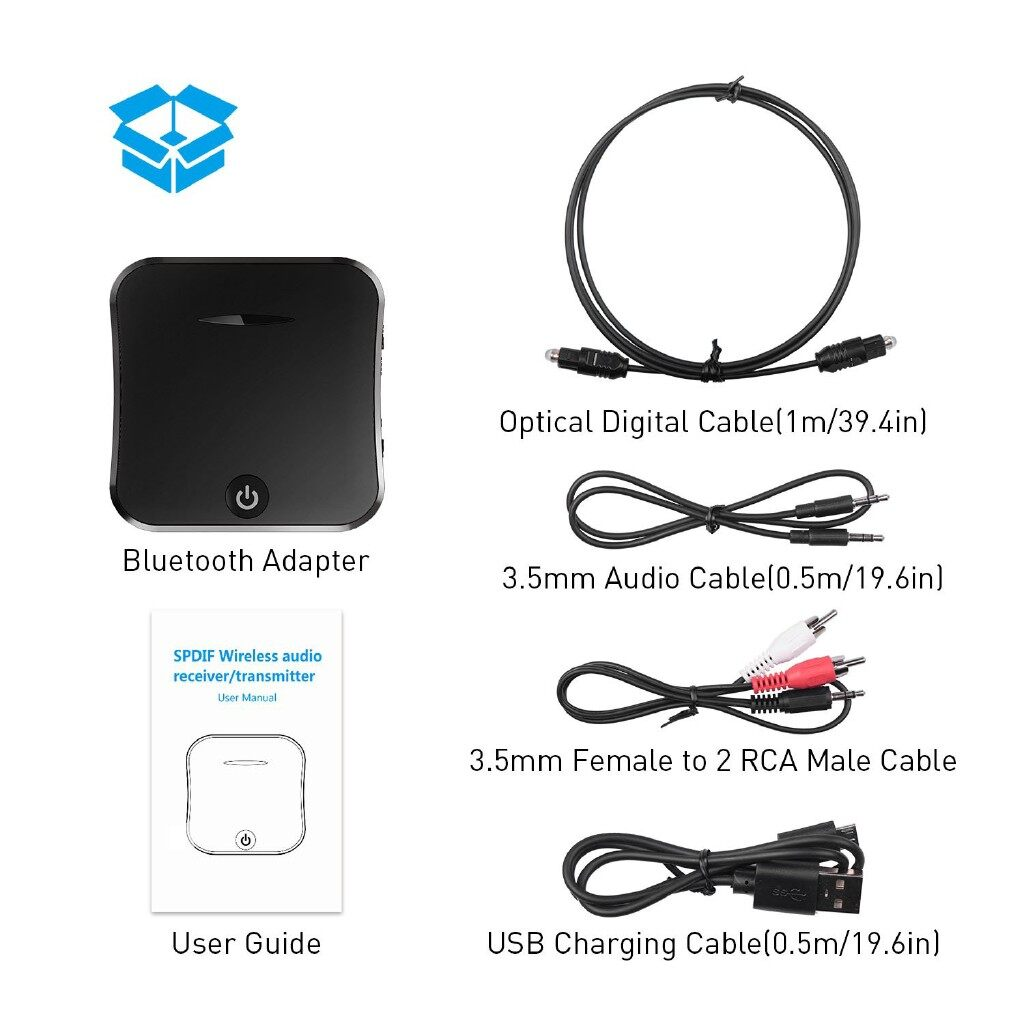 Gadgets - 3010Arrived3011BT-1 BLUETOOTH 5.0 Transmitter Receiver Audio Adapter AUX Stereo - Cool