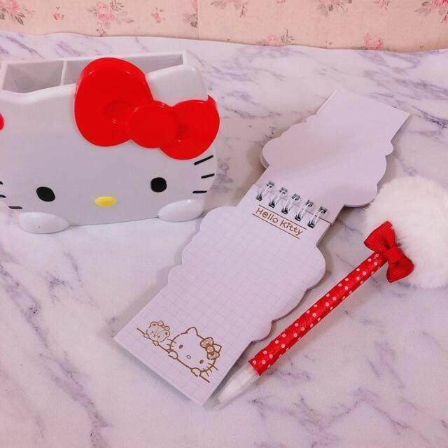 Hello Kitty My Melody Stationery Holder Pens  Holder Set