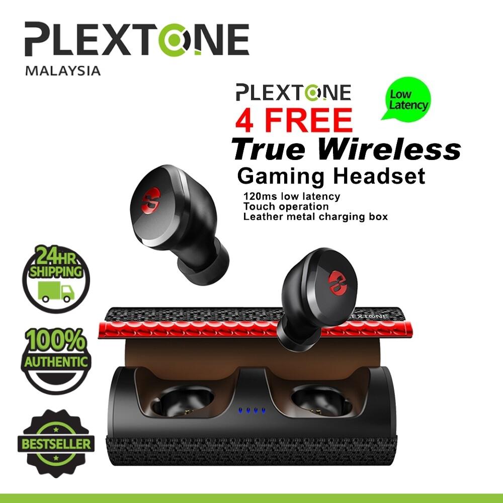 PLEXTONE 4FREE True Wireless Gaming Headset Bluetooth 5.0 headphones For Smartphone Mobile SAMSUNG HUAWEI OPPO VIVO XIAOMI