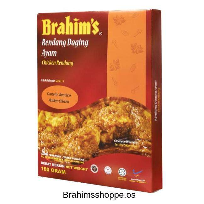 Brahim's Rendang Ayam