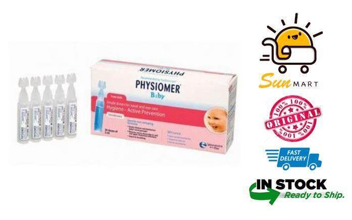 Physiomer Baby Single Doses Saline 5ml 30's ***CLEARANCE