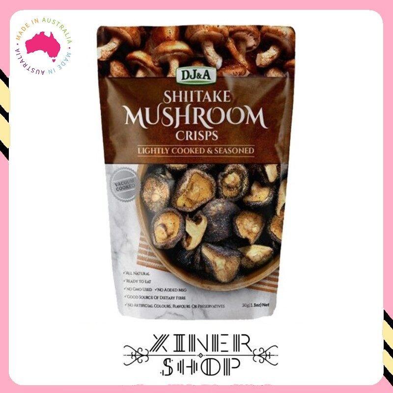 [Pre Order] DJ&A Shiitake Healthy Snack Mushroom Crips ( 150g )(Import from Australia)