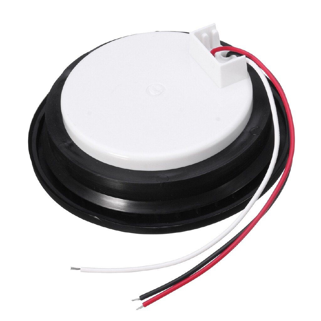 Car Lights - Truck Trailer 12 LED Round Reflector Rear Tail Brake Stop Marker Light Indicator - Replacement Parts