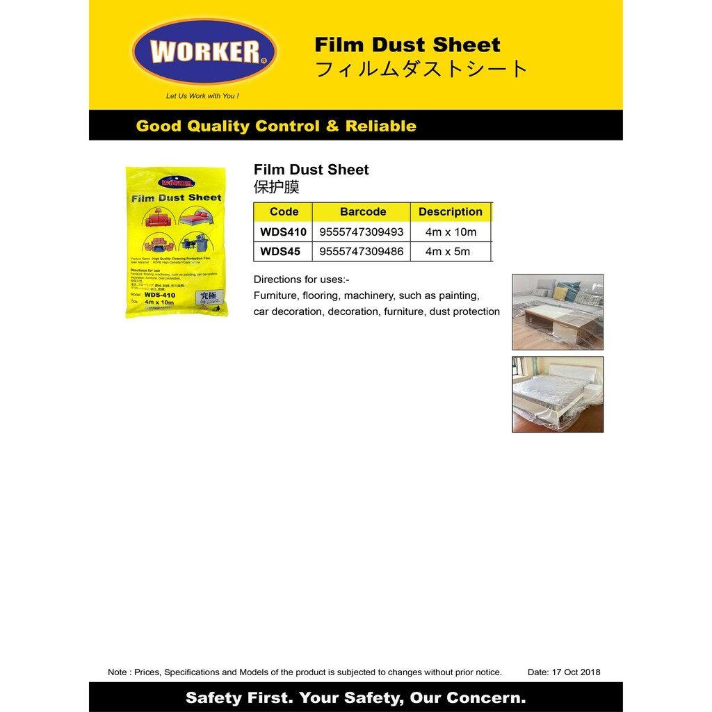 Worker Film Dust Sheet