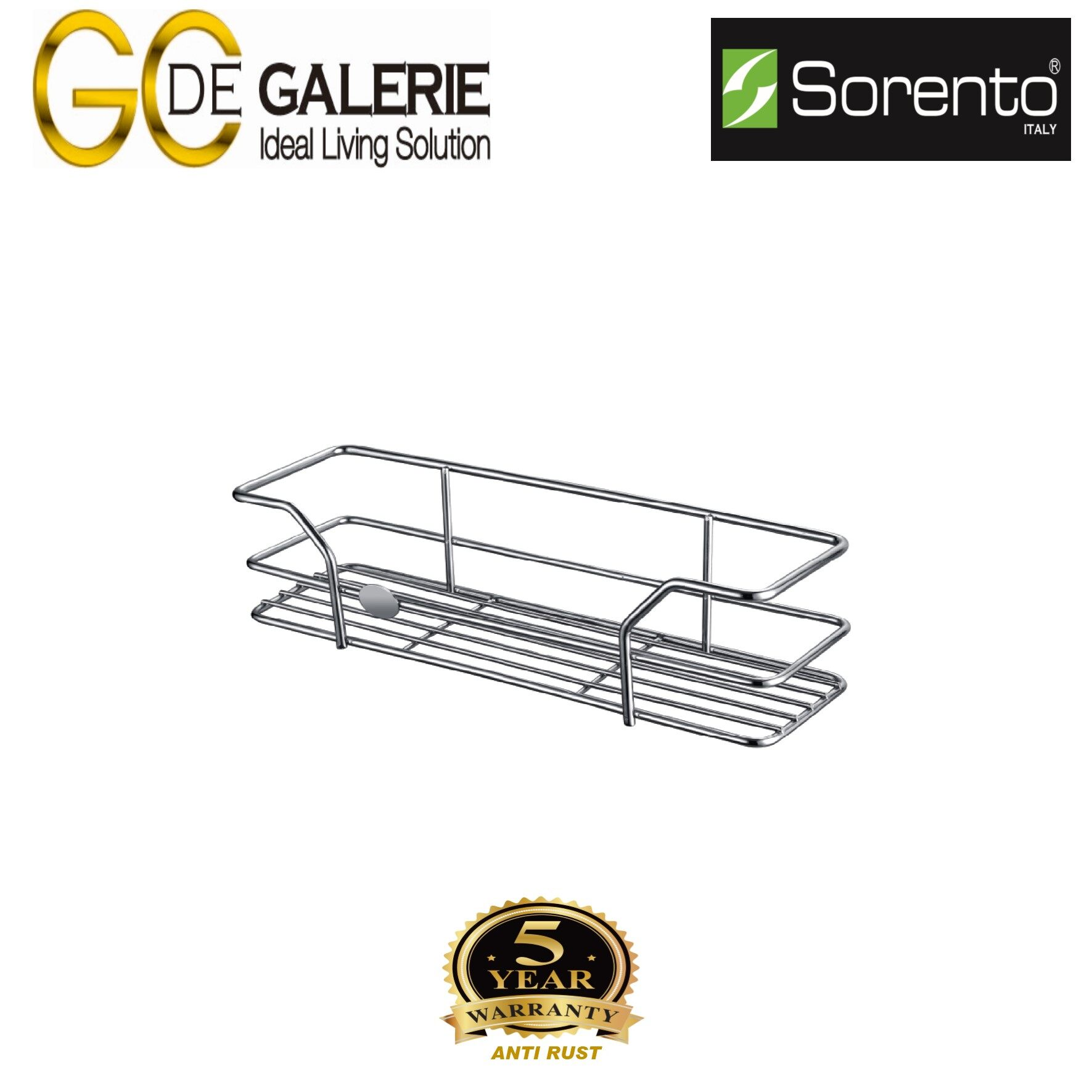 Sorento SRTBK7003-HP Bathroom/ Toilet Stainless Steel 304 Basket