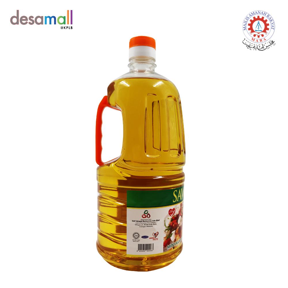 SAWITMAS Minyak Masak Botol (Cooking Oil) Keluaran Muslim (2KG)