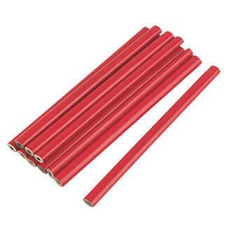 Carpenter Pencil 2B (10Pcs)