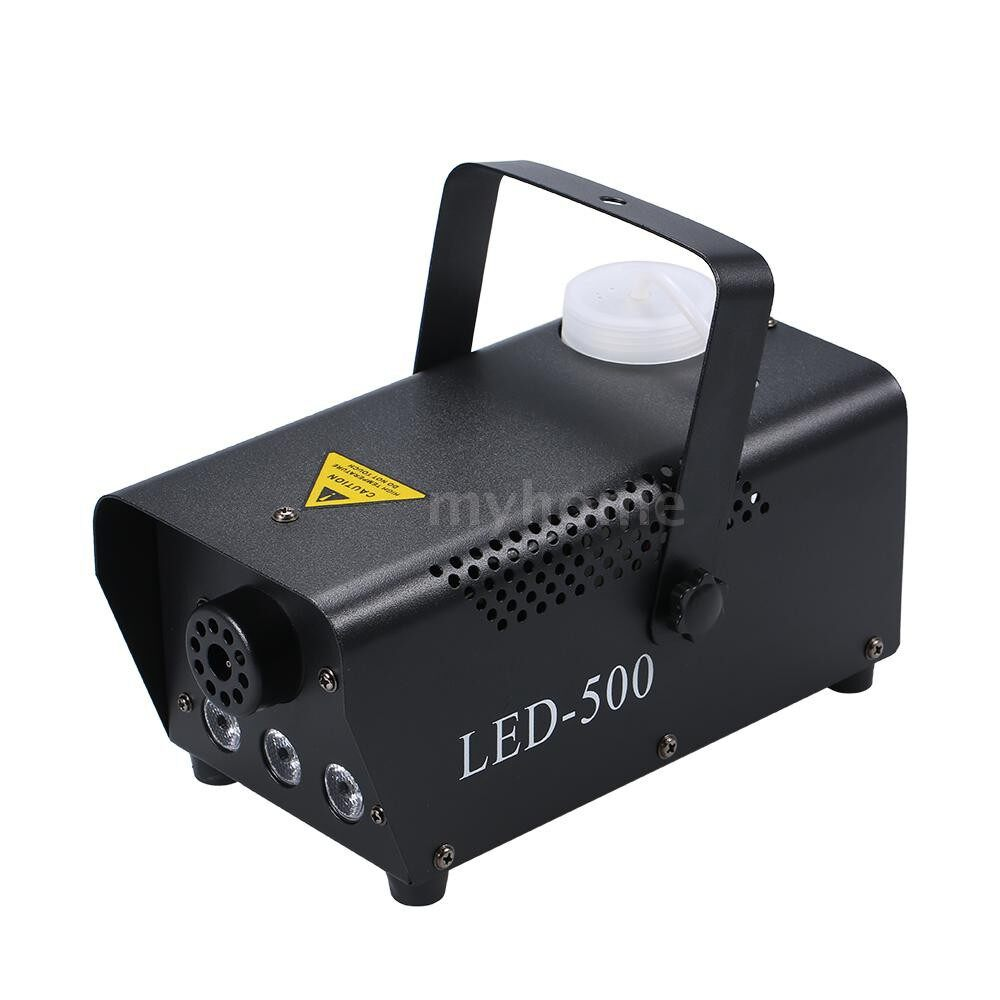 Lighting - AC110-230V 500W Fog Smoke Machine Fogger 300ML Big Capacity with 3 LED Light WIRELESS Remote - Home & Living