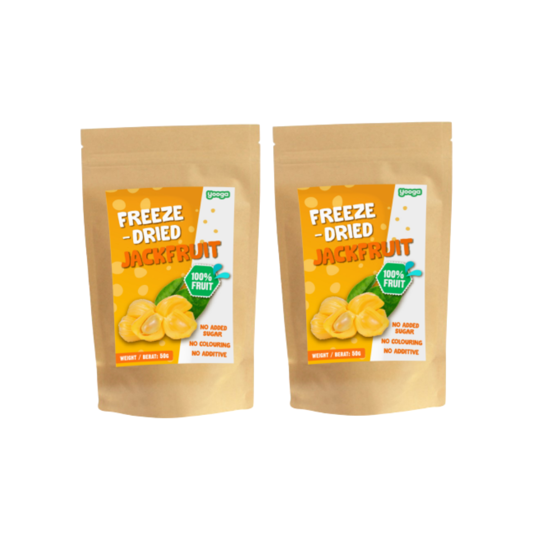 Yooga Freeze Dried Fruit - Jack Fruit (2 packets)