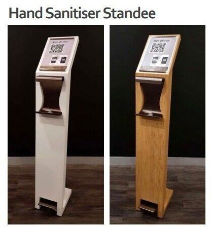 Hand Sanitizer Standee