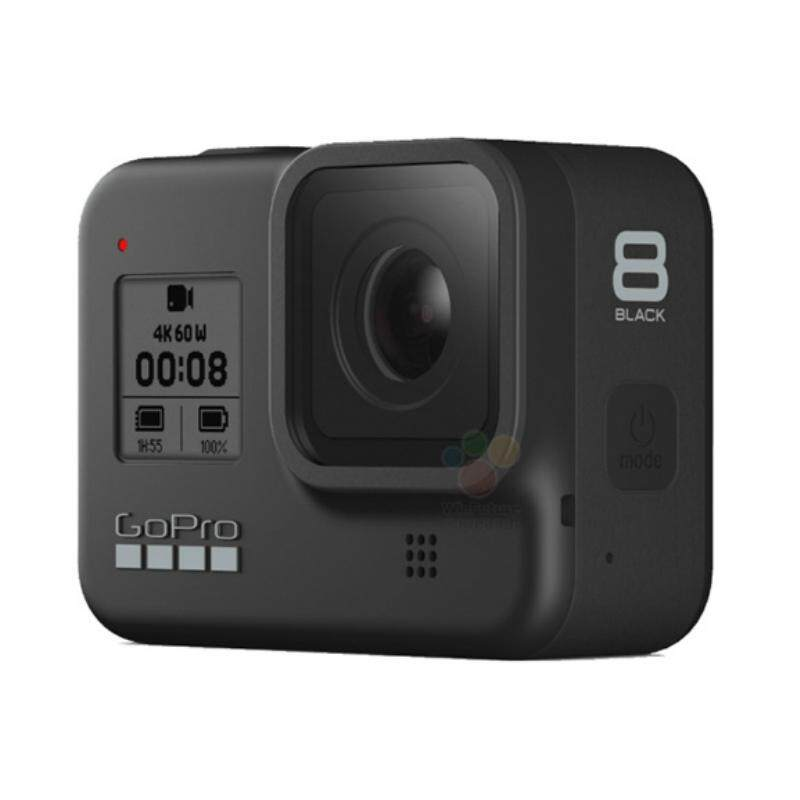 GoPro Hero8 / Hero 8 Black Action Camera with HyperSmooth 2.0 Stabilization & Built-in Mounting