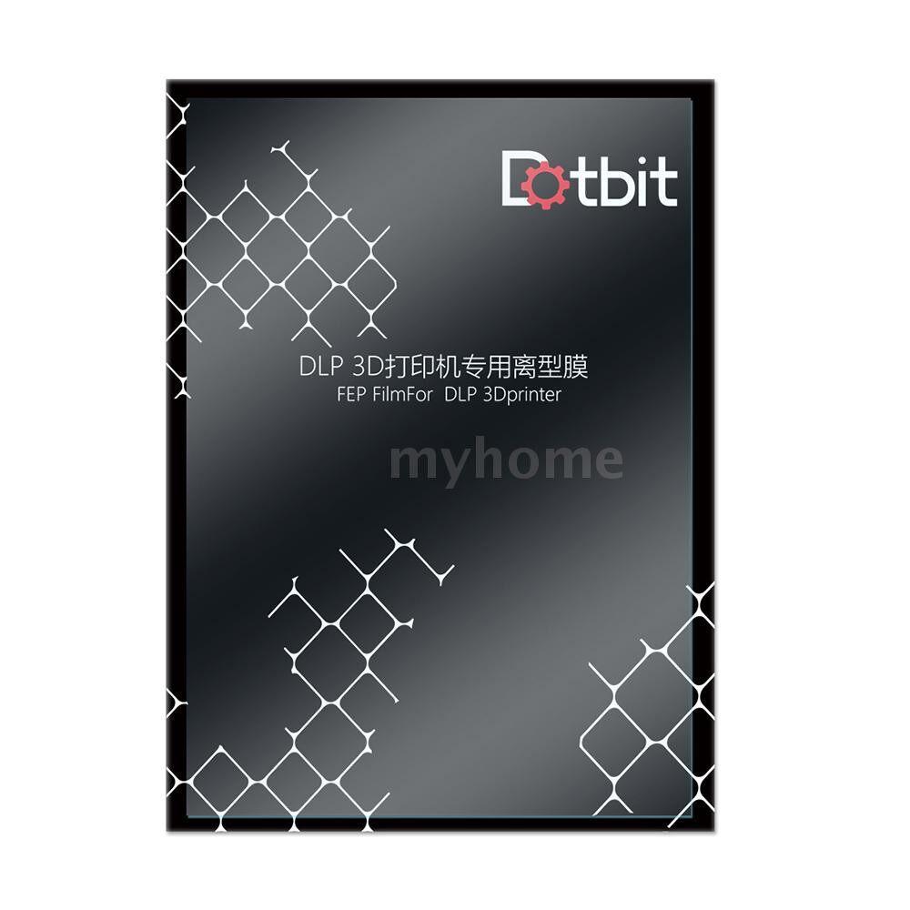 Printers & Projectors - Dotbit Professional FEP Film Sheet 200140mm 0.15-0.2mm Thickness Transparent Release Film for - TRANSPARENT-10 PIECE(s) / TRANSPARENT-5 PIECE(s)