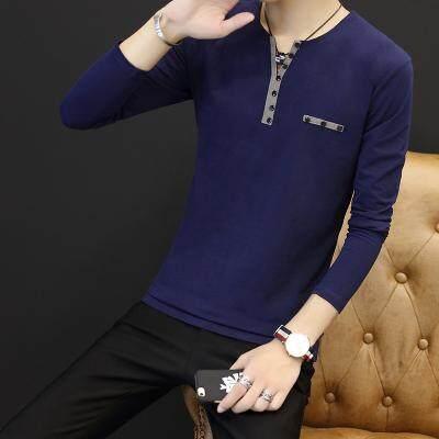 (Pre Order ETA End Feb 2021 CNY Break)(Pre Order ETA 14/2)Korean Style Men Long Sleeve Shirt Collection 301D-907 (Blue)(ETA: 2021-12-31)