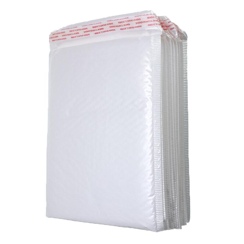 [100 pcs 23cm x 28cm] White Foam Kraft Paper Bubble Envelopes Bags Courier