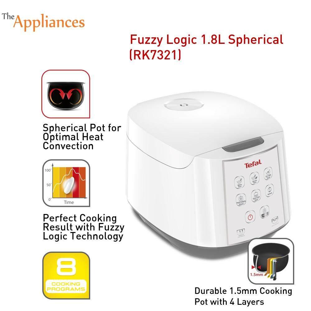 Tefal Rice Cooker Fuzzy Logic RK7321 (1.8L)