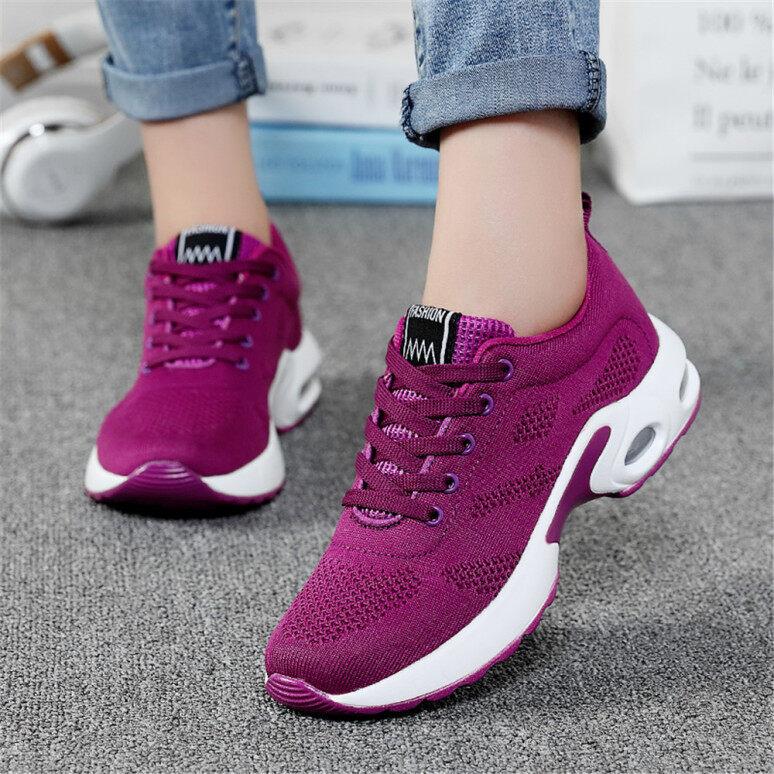 Phụ Nữ Quần Vợt Giày Đệm Sneakers Giày Chạy Thở, Giày Thể Thao Đi Bộ Bình Thường Giày, Chạy Bộ Giày giá rẻ