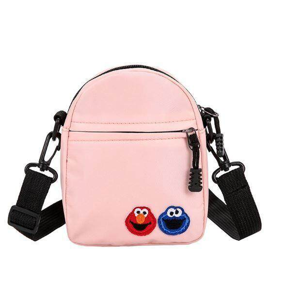 Sesame Street Cartoon Shoulder Messages Bag Student Girl Bag
