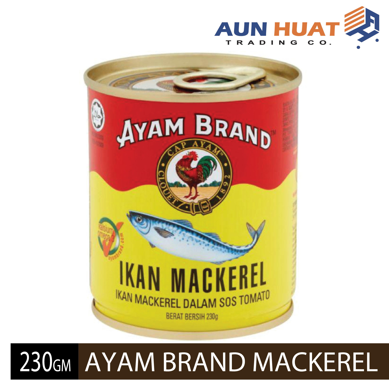 AYAM BRAND MACKEREL IN TOMATO SAUCE 230GM