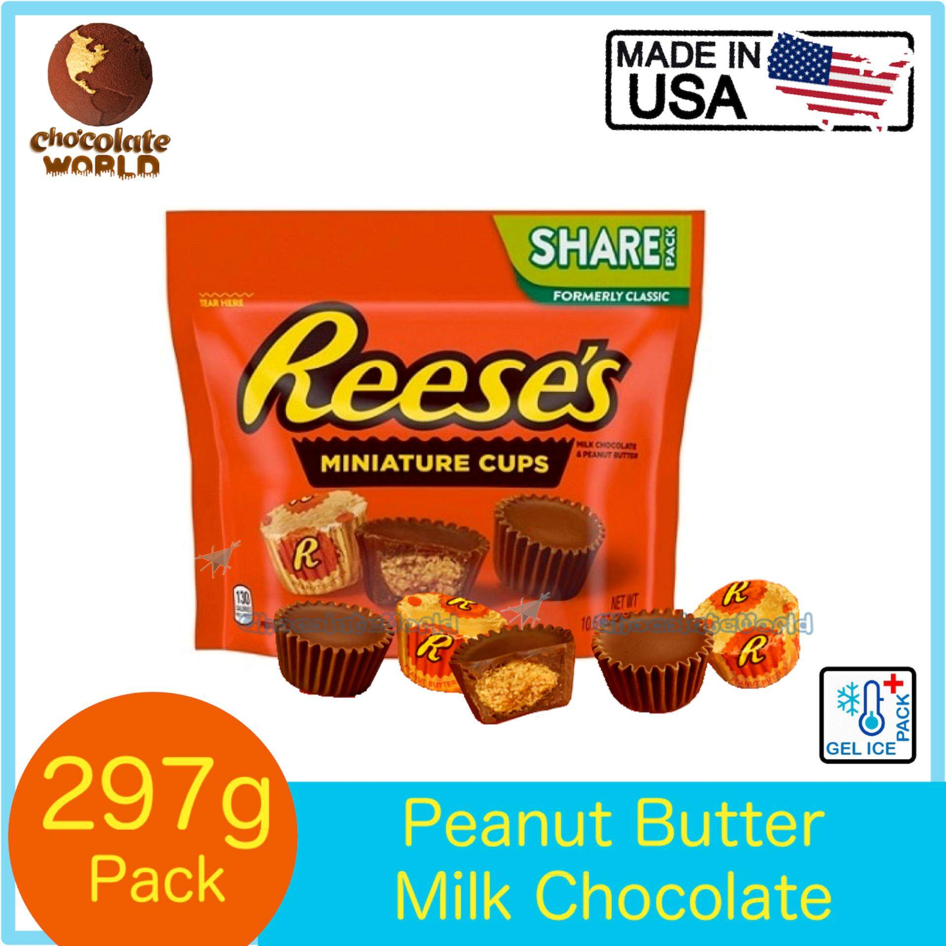 Reeses Miniatures Peanut Butter Cups 297g (Made in USA)