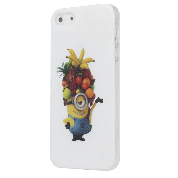 Android Hard Cover - Cut Pattern Design TPU Hard Back Case Cover For iPh 5 5S - Cases & Covers