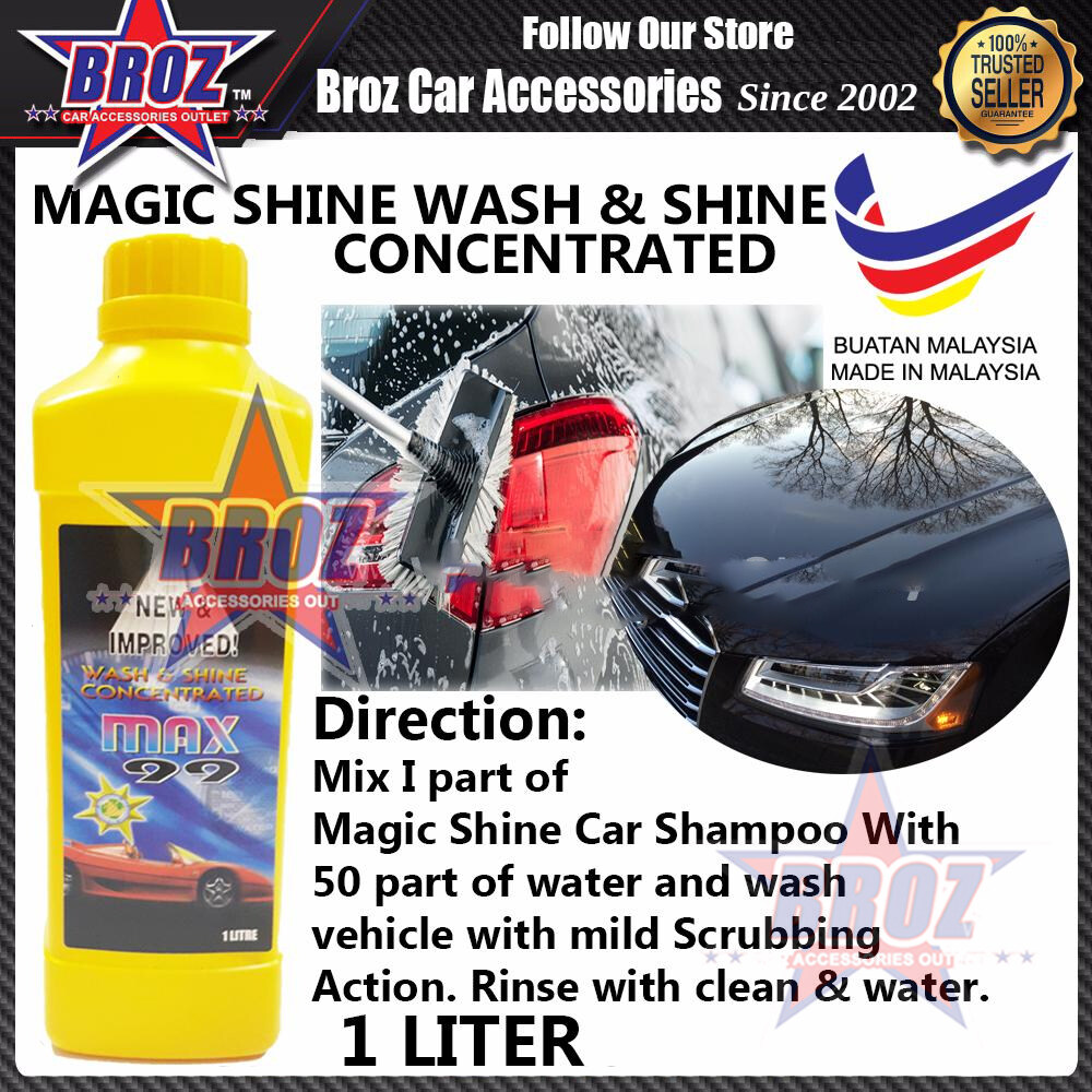 Wash & Shine Concentrated Max 99