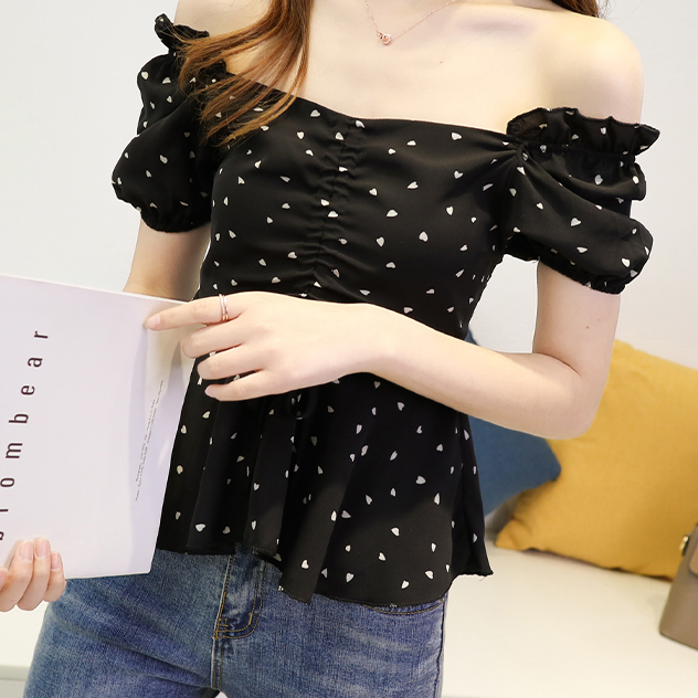 JYS Fashion Korean Style Women Off Shoulder Top Collection 533-7424