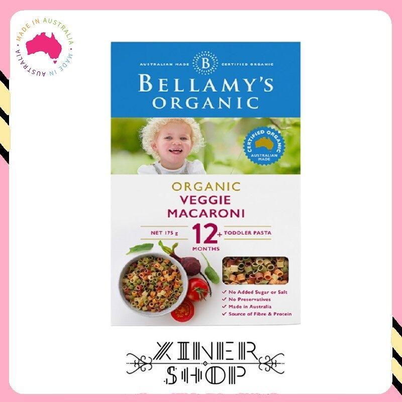 [Import From Australia] Bellamy 's Organic Vegi Macaroni 12+  ( 175g )